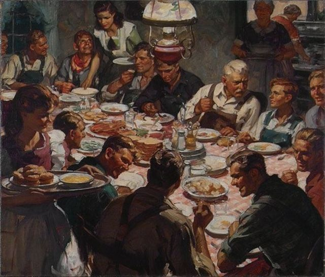 All great change in America begins at the dinner table…..
